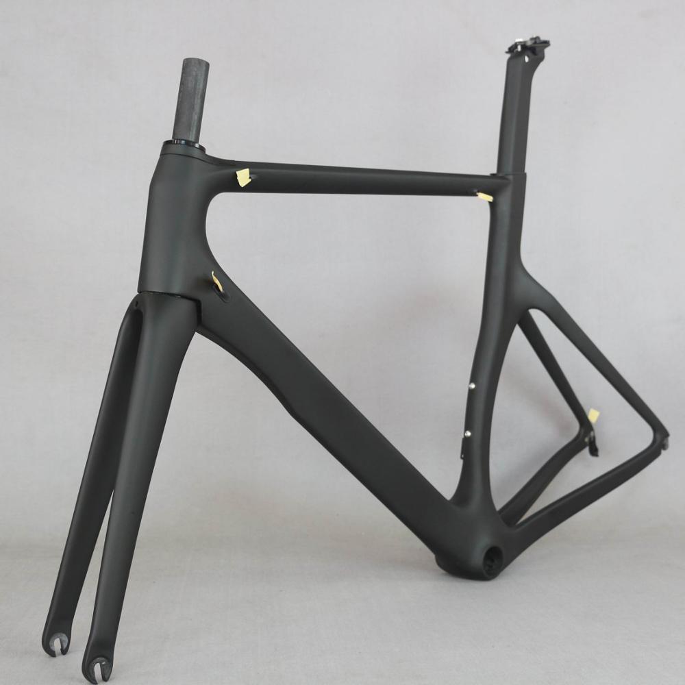 Tantan Factory New Aero Design  18K Carbon Road Bike Frame Carbon Fibre Racing Bicycle Frame700c  Accept Painting