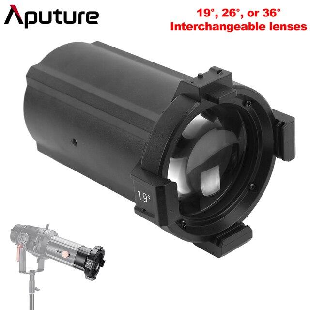 Aputure بقعة ليغث قابلة للتبديل عدسة 19 ° 26 ° 36 ° ل Aputure الأضواء جبل مجموعة