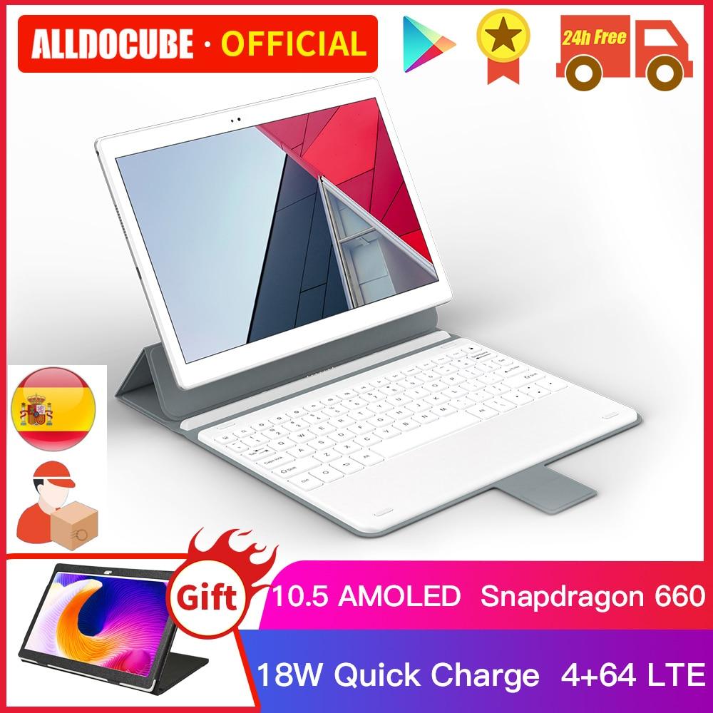 Alldocumbe x neo snapdragon 660 4gb ram 64gb rom 10.5 Polegada super amoled android 9.0 duplo 4g lte tablet