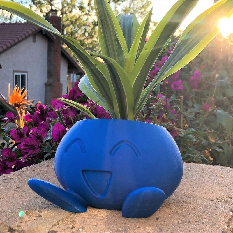 Oddish Planter Flower-Pot Succulent
