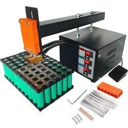 JST импульсный точечный сварочный агрегат, 18650 литиевая батарея, точечный сварочный аппарат, 3 кВт, высокая мощность, не подходит для сварки ба...