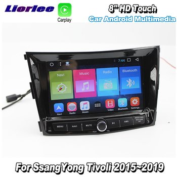 For SsangYong Tivoli 2015-2019 Car Android Multimedia GPS Navigation Player Radio Stereo Audio Video Screen image