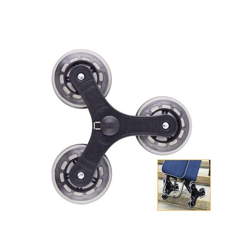2 Pcs/set Keranjang Belanja Kastor Troli Bagasi Koper Roller Penggantian Roda Pulley Sliding Roller Roda Aksesoris