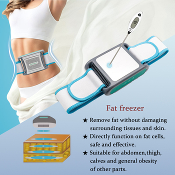 Cryotherapy Body Slimming  Anti Cellulite Massager Cryolipolysis Machine Abdomen Thighs Calves Atraumatic Weight loss Remove Fat portable size electric 3d full body massager roller powerful anti cellulite body slimming burn fat loss weight machine