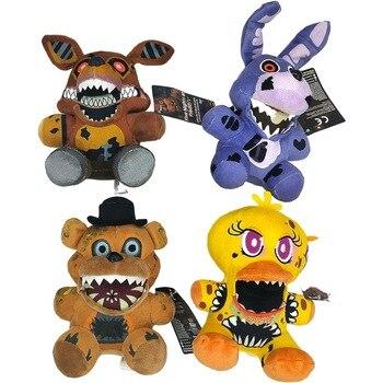 18cm Five Nights At Freddy's FNAF Plush Doll Freddy Bear Foxy Chica Bonnie stuffed Plush Toys Kid Children Dolls Kids toy 1