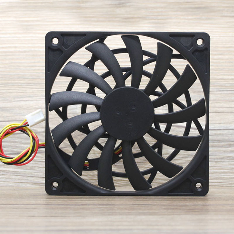 1pcs 120mm Slim Fan 12012 0.19A 12MM Thick Slim Chassis Cpu Cooling Fan