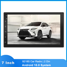 GPS Navigation Multimedia-Player Android 10.0 9218S 2-Din Car-Radio Touch-Screen Bluetooth