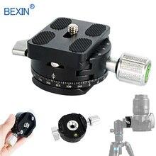 Зажим для мини-камеры dslr быстросъемный зажим для штатива панорамный вращающийся зажим для штатива камеры с адаптером arce