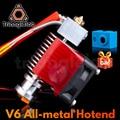Trianglelab Highall-металл V6 12 В/24 В удаленного Боуэн принтом J головки и вентилятор охлаждения кронштейн для E3D Hotend для PT100