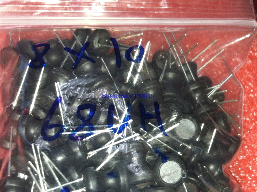 6×8mm 8×10mm 9×12mm Radial Ferrite Choke Inductor 6.8UH~4.7MH Power Inductance