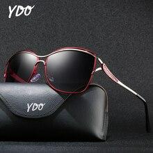 YDO Polarized Sunglasses Women 2019 Luxury Brand Butterfly Big Frame Vintage Oversized Sun Glasses Female Eyewear UV400 Shades