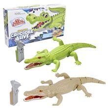 Infrared Remote Control Simulation Crocodile Realistic Electronic Animal Model