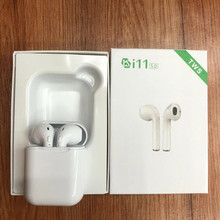 i11 Wireless Bluetooth i11-tws Earbuds Ture Double Earphones Twins Earpieces Stereo Music Headset I9S For iPhone 8 Plus