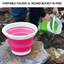 Silicone Folding Bucket Art Wash Pen Portable Car Outdoor Fishing Telescopic