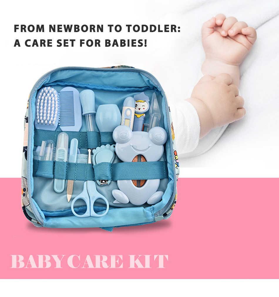 Multifunction Baby Healthcare Kit เด็กทารกแรกเกิด Care ชุดเด็กแต่งตัวชุดเครื่องวัดอุณหภูมิ Clipper เด็กอุปกรณ์เสริมสำหรับทารก