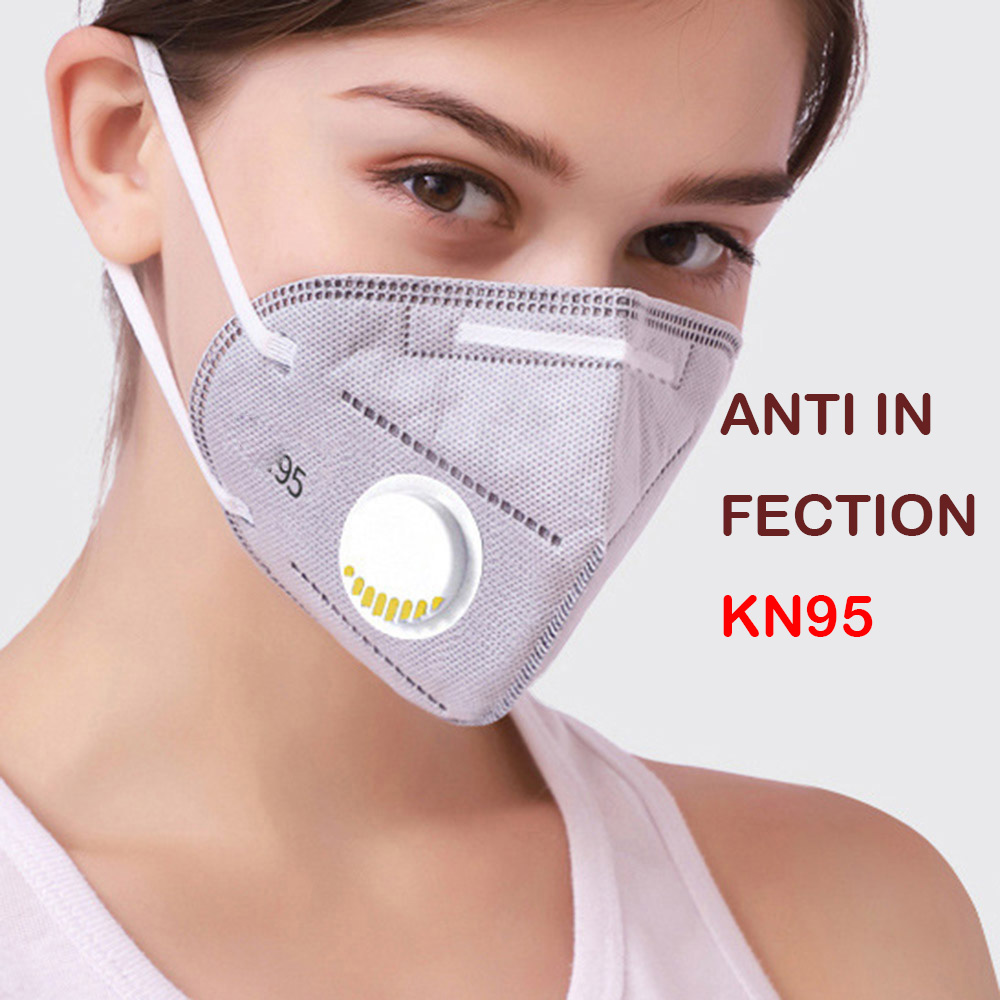 Fast Shipping 10PCS Face Mask Dust Mask Anti Pollution Influenza Masks PM2.5 Activated Carbon Filter Insert Reusable Mouth Masks