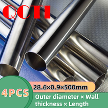 Titanium-Tube Polished Seamless Industrial Pure for Bicycle CP Gr9-28.60.9500mm 4pcs