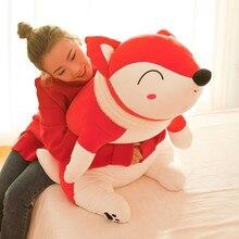 35-60CM Fox doll plush animal cartoon plush toy software sleeping pillow large gift girl birthday gift WJ100 стоимость