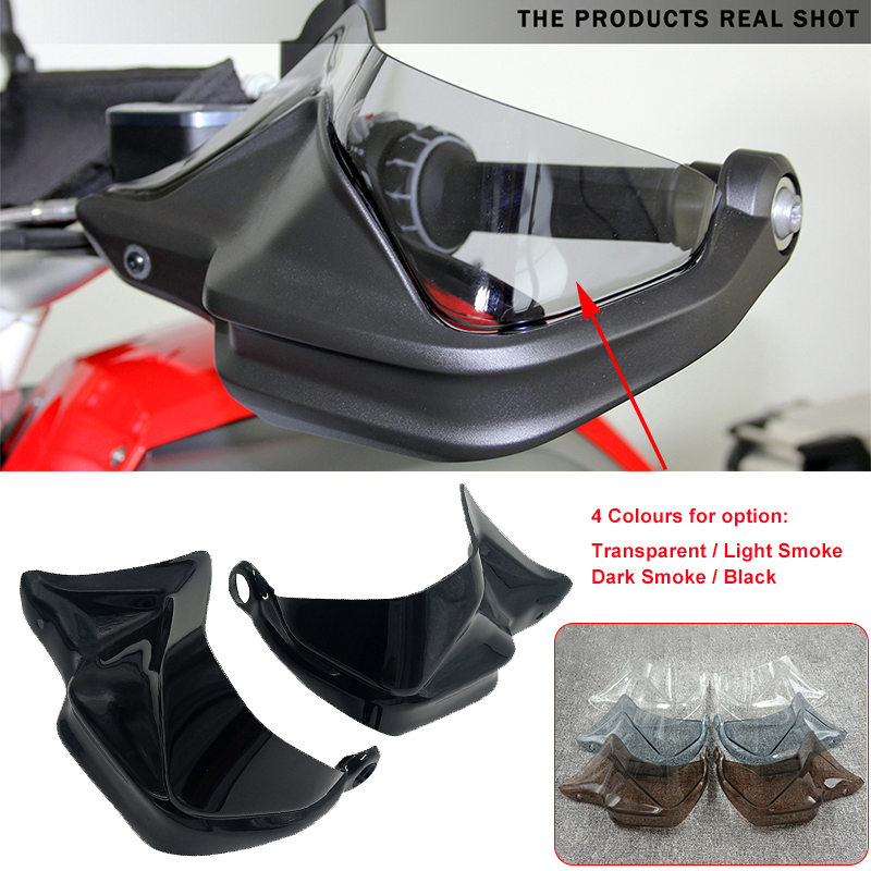 MotorFansClub Hand Guard Shield Protector Handguard Wind Shield Extensions Fit For Compatible With BMW R1200GS GSA F800GS Adventure 2013-2018