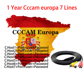 OSCAM cline Germany Cccam cline for 1 year Europe CCCAM Spain Portugal Poland Stable for DVB-S2 Satellite Receiver Receptor receptor satelite cccam cline for 1 year spain cccam espa a usb wifi free 7 lines cccam portugal poland europe ccam 1 year spain