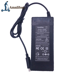 Electric Scooter Charger Adapter 42v 2A for Xiaomi Mijia M365 For Ninebot Es1 Es2 ES4 Electric Scooter Parts Kickscooter Charger