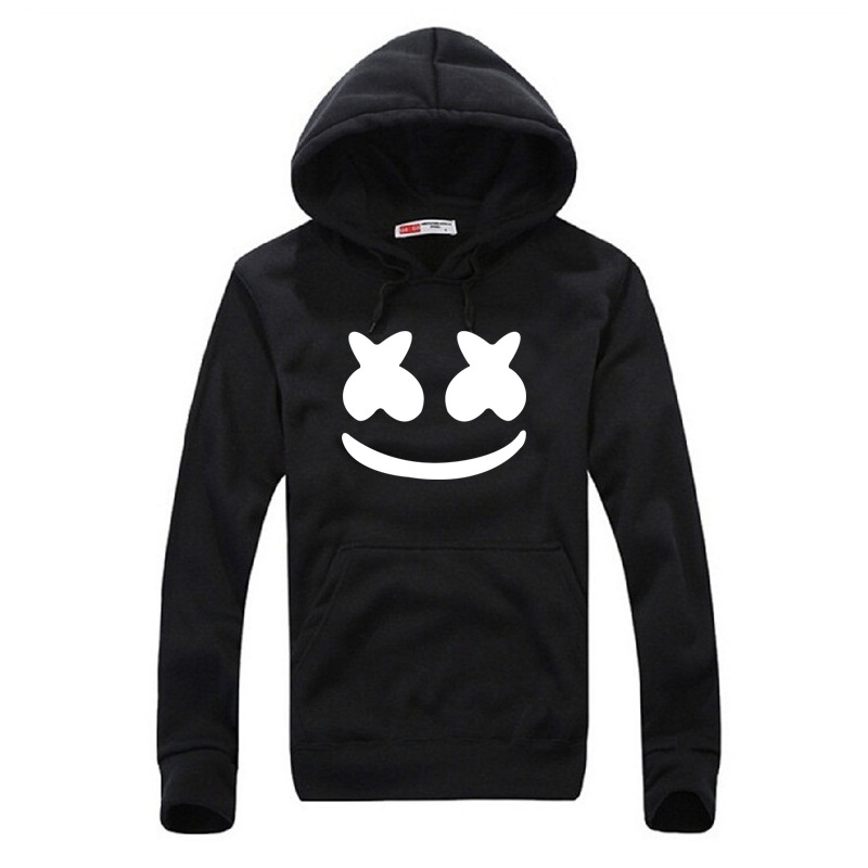 Cross Border AliExpress Hot Selling Marshmello Smiley Spring And Autumn Fashion Youth Students Hoodie Men's Europe And America H