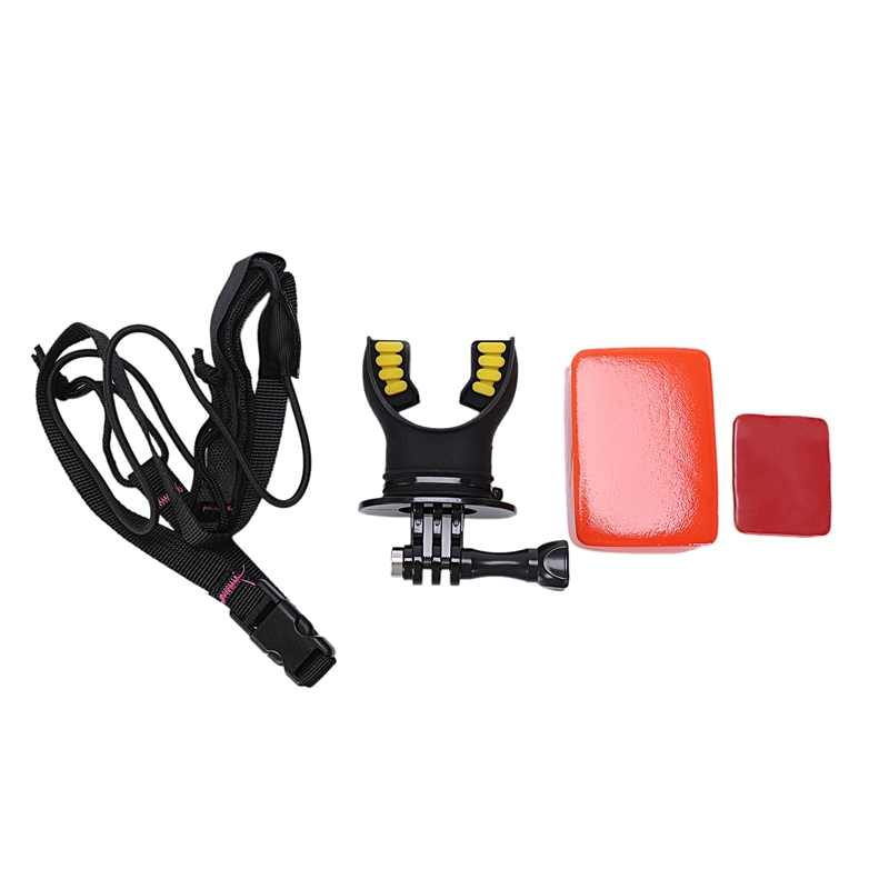 Surfing Underwater Camera Teeth Braces Holder Mouth Mount Surf Set For Gopro Hero 5 4 3 2 Xiaomi Sjcam Action Camera