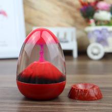Volcanic Creative Children's Toys Sensory Visual Stimulation Decompression Timer Gift Decoration Desktop I6G6