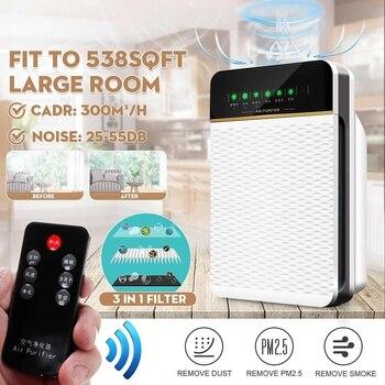 Negative Ion Air Ozonizer Air Purifier Home Deodorizer Ozone Lonizer Generator Anti-PM2.5 Sterilization Filter Disinfection