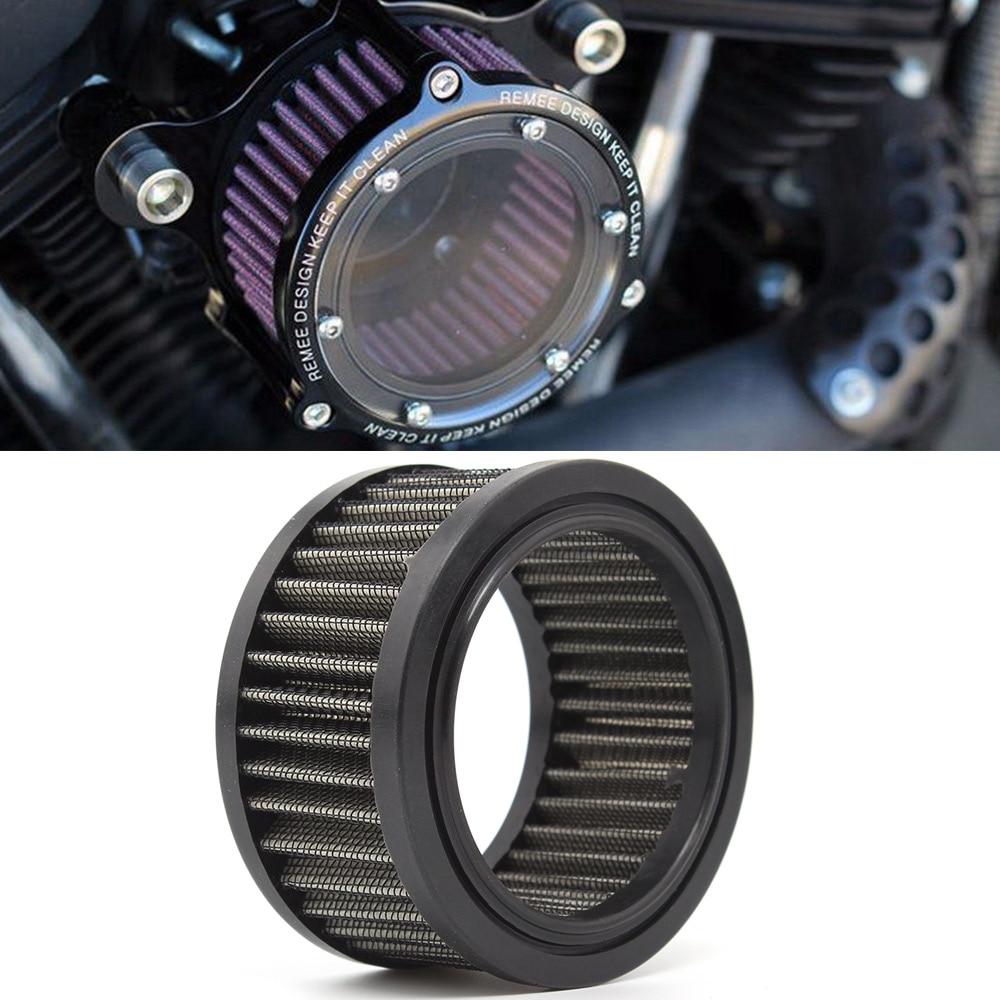 Acessórios da motocicleta filtro de ar de entrada de ar alto fluxo de ar mais limpo para harley sportster xl 883 xl 1200 48 2004-2018