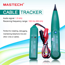 цена на Network Cable Tester MASTECH MS6812 New Arrival Telephone Phone Wire Network Cable Tester Line Tracker for  Wholesale