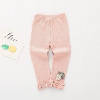 pink cotton leggings