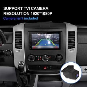Image 2 - Автомагнитола Isudar H53, Android, для Mercedes/Benz/Sprinter/W169/B200/B class 4G, 1 Din, GPS, мультимедиа, USB, DVR, камера, 8 ядер, IPS