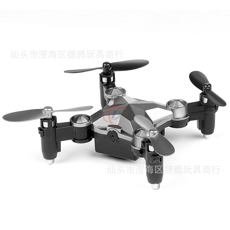 New Style With WiFi Real-Time Transmission Aerial Photography Pocket Mini Folding Remote-controlled Unmanned Vehicle Four-axis W