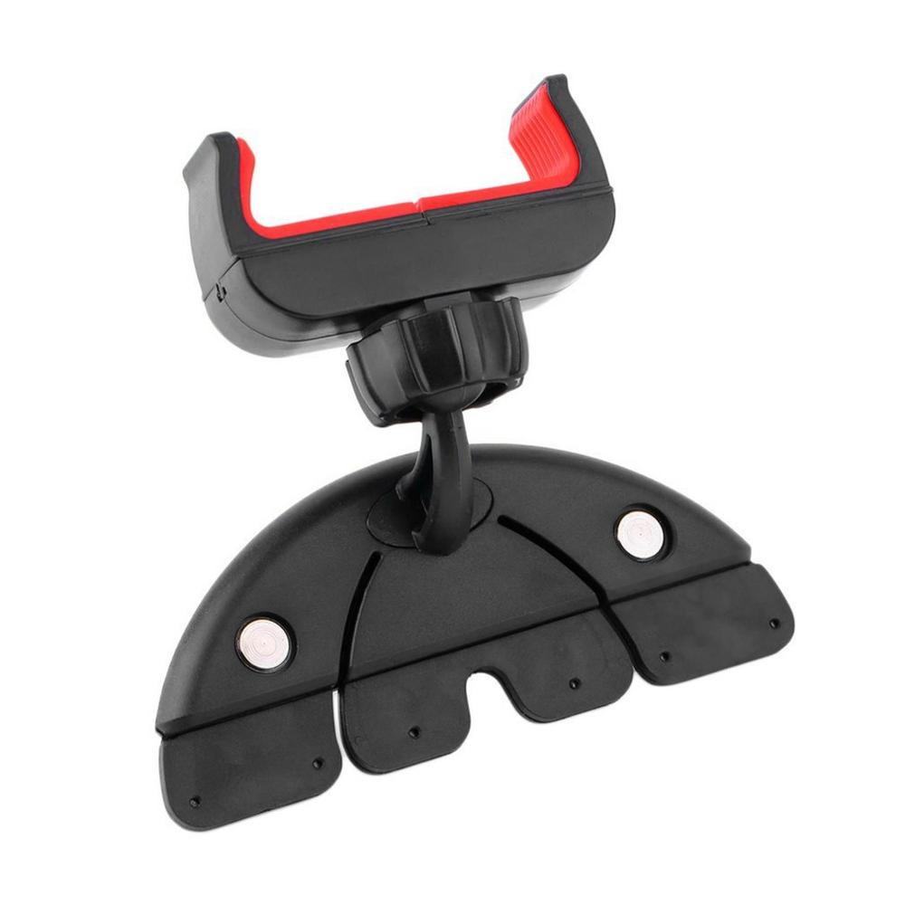 Universal Car CD Slot Cell Phone Mount Holder Stand Cradle For iPhone 5SE 6S Mobile Phone and GPS Bracket Stand