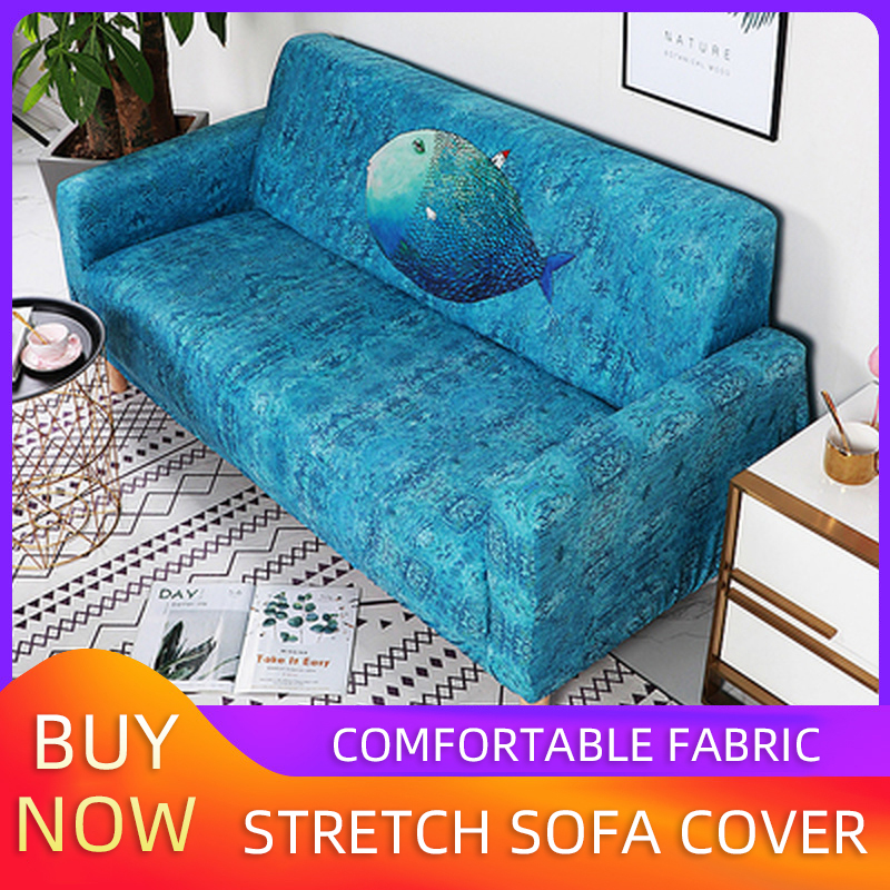 Sofa Cover L-shaped Sofa Cushion Cover Sofa Cover For Living Room Combination Sofa Decoration Cover Single / Double / Three