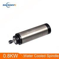 Daedalus CNC spindle motor 0.8KW water cooled spindle 4 bearing 65MM ER11 engraving machine 110V / 220V spindle motor