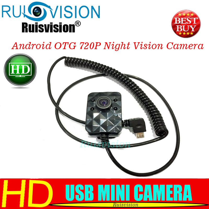 NEW HD 720P Android Micro USB OTG Camera 1MP Android Mobile Micro USB 940NM Infrared Night Vision Security Camera Free Shipping