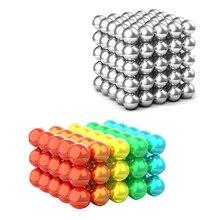 цена на wholesale 5mm 216pcs/set Magnet Metal Balls Magnetic stick Building Blocks Construction Designer Creative Educational Toys Kids