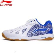 Li-Ning/Мужская профессиональная обувь для настольного тенниса, не оставляющая следов подкладка, облачная спортивная обувь, кроссовки APPP003 YXT035