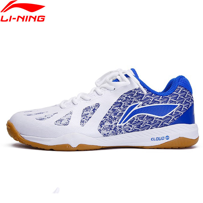Li-Ning Men Professional Table Tennis Shoes Non-marking Cushion LiNing Li Ning Cloud Sport Shoes Sneakers APPP003 YXT035