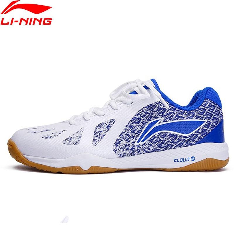 Li-Ning Men Professional Table Tennis Shoes Non-marking Cushion LiNing Li Ning Cloud Sport Shoes Sneakers APPP003 YXT035