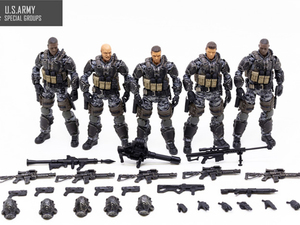 Image 2 - NEW JOY TOY 1/18 action figures US Marine Corps USMC Armed Forces model doll Birthday/Holiday Gift Free shipping