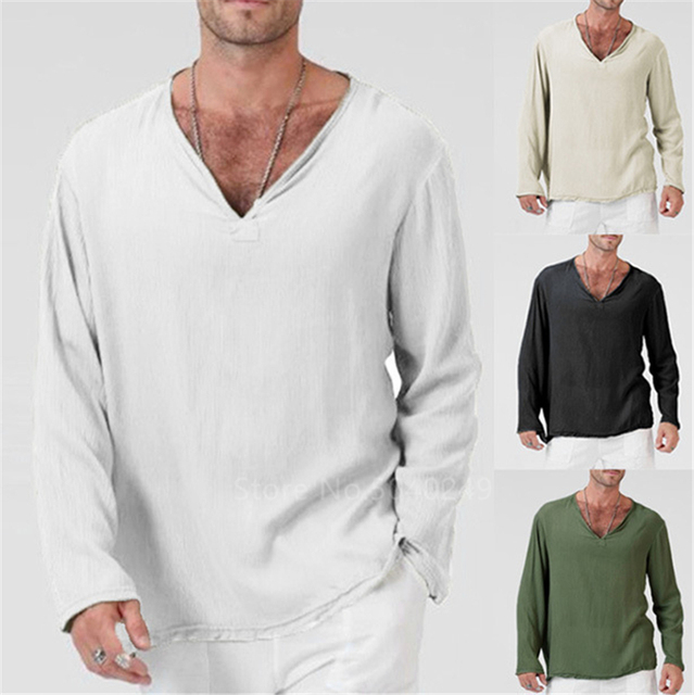 Long Sleeve V neck Tshirt