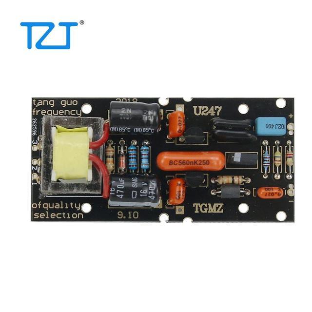 Печатная плата TZT для конденсаторного микрофона с большой диафрагмой «сделай сам», питание от источника фантомного питания 48 В