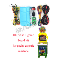 HD 35 in 1 kit cowboy game board cables switch setting for coin operated kids games toy gacha capsule toys vending machine
