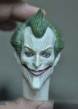 1/6 Scale Mad Joker Head Sculpt for 12''Figures Bodies