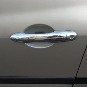 Image 5 - Para Renault Megane ii 2 MK2 2002, 2003, 2004, 2005, 2006, 2007, 2008 ABS cromo cubierta de la manija de la puerta trim