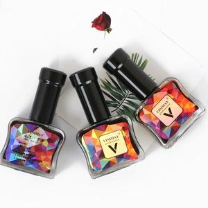 Image 5 - VINIMAY akwarela atrament żelowy lakier do paznokci kwitnący żel magia Smudge Bubble żel do paznokci DIY lakier Manicure dekoracja salon paznokci zestaw