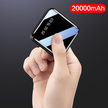 20000mah Mini Power Bank 2.1A Fast Charging Portable Dual Us